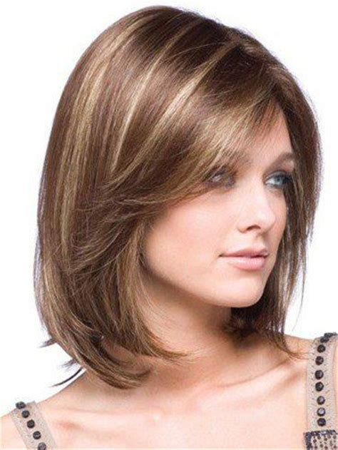 square face hairstyle for gray hair shoulder length hairstyles for square faces gray hair