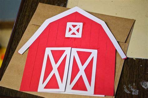 Barn Invitation Template barn invitations template craft time barnyard birthday