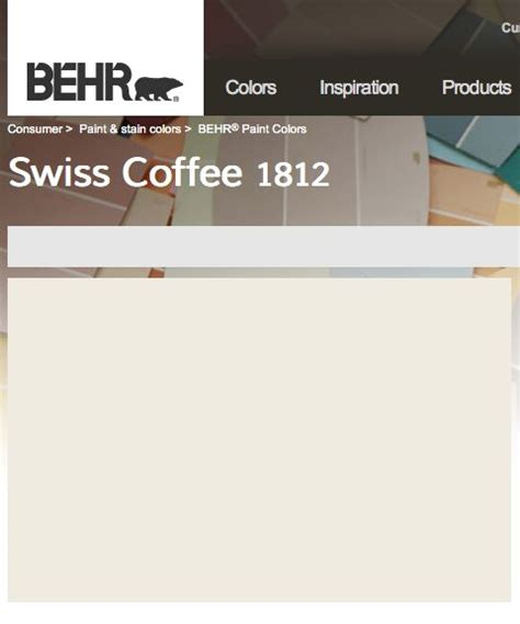 behr swiss coffee nursery house color palette nurseries behr and coffee