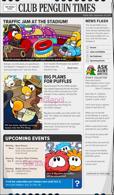 Reporter Club Penguin Book Codes by Saraapril In Club Penguin Club Penguin Times Issue 310