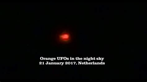 orange lights in the sky group of orange ufos in the night sky youtube