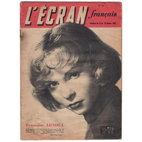 Magazine En Francais by L Ecran Fran 231 Ais Magazine N 176 341 January 23 1952 With
