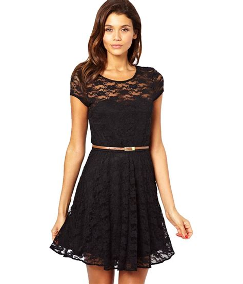 18901 Black Priscet Lace maysa black lace dresses buy maysa black lace dresses at best prices in india on snapdeal