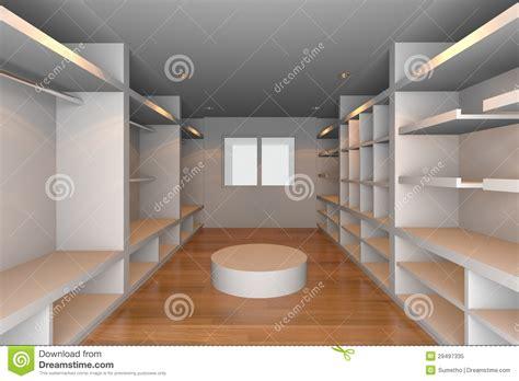 Minimalist Floor Plans white walk in closet royalty free stock photo image