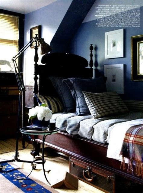 masculine decor tour a new jersey home guest rooms nooks and space saving