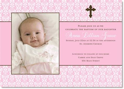 Christening Invitation Card Template Psd by Free Christening Invitation Layout Orderecigsjuice Info