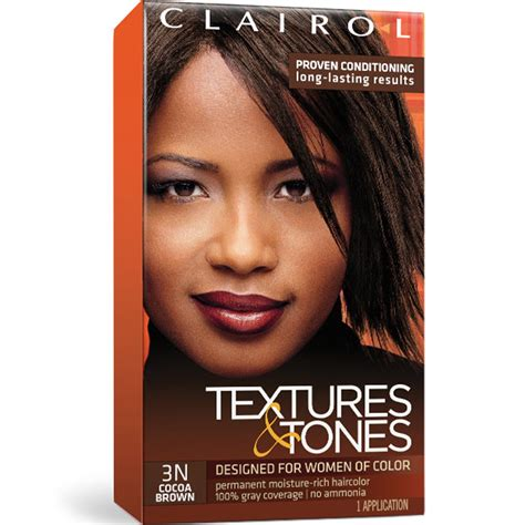 clairol textures and tones colors clairol textures tones permanent hair color dye kit 1