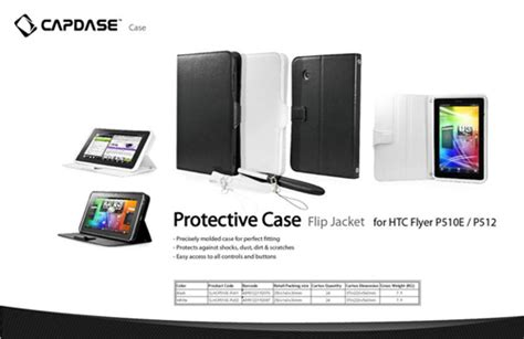 Capdase Softjacket Htc Flyer Black restogadget shop rg shop tablet