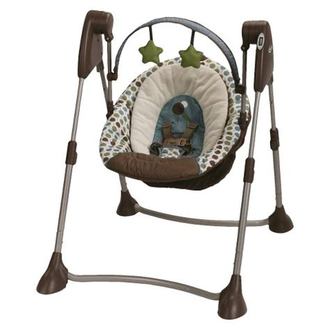 portable baby swings graco swing by me portable swing target