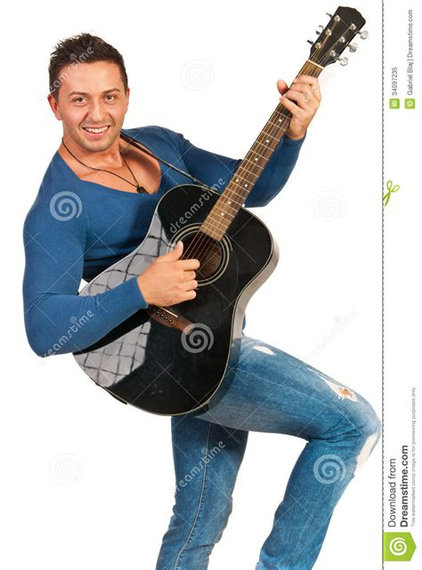 who is the man with guitar in the direct tv commercial modern guy playing guitar stock image image of people