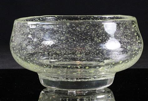 Schneider Bubble Glass Bowl from scholaertcassel on Ruby Lane