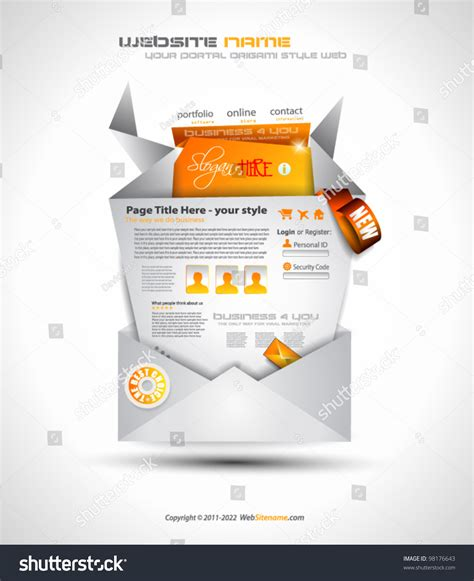 Origami Websites With - origami website design for business