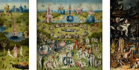 The Garden Of Delights hieronymus bosch renaissance dali the counterfeit columnist