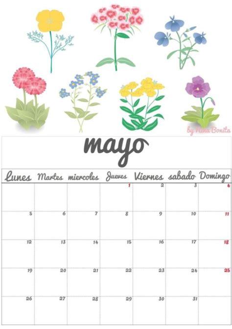 Calendario X Mes 2016 Im 225 Genes De Calendarios Mes De Mayo 2016 Para Imprimir