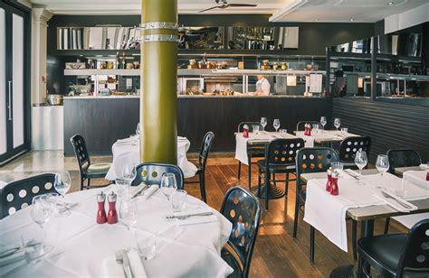 restaurante moderno  cocina vista fotos   te