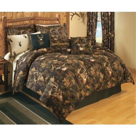 browning bed sets browning 174 camo comforter set at cabela s log cabin love