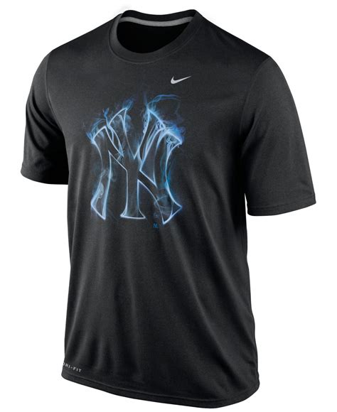 Tshirtt Shirtkaos Nike Ny Black lyst nike s new york yankees legend vapor t shirt in black for
