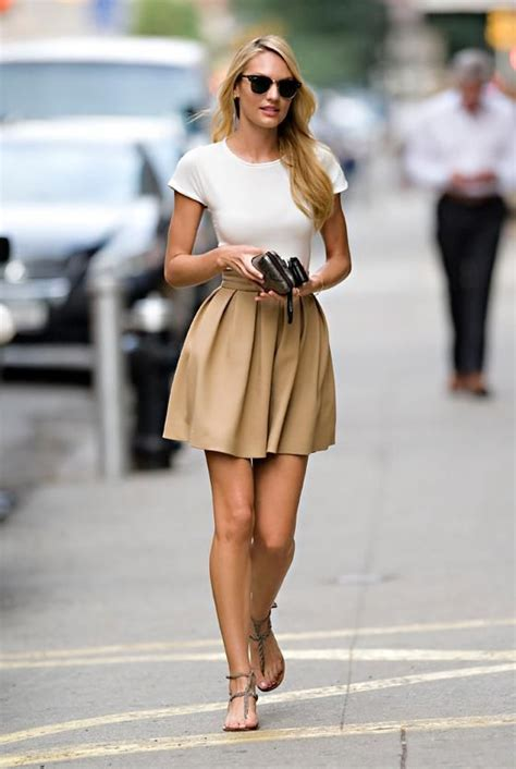 9 Classic Looks by A Circle Skirt And White Top Classic Look