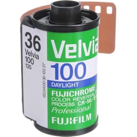 Fujifilm Velvia 100 Roll 36 fuji fujichrome velvia 100 iso 35mm x 36 exp rvp single