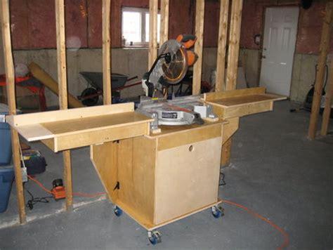 miter saw stand plans woodworker magazine