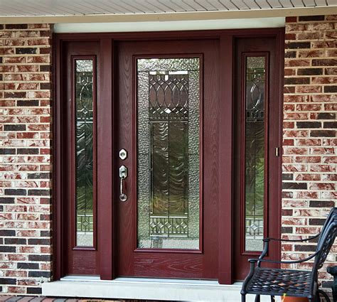 Fiberglass Front Doors With Sidelights by Fiberglass Front Doors With Sidelights How To Care And
