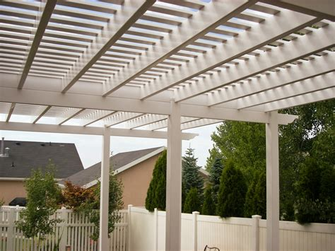 vinyl pergola materials vinyl pergoals patio covers in utah best vinyl ut