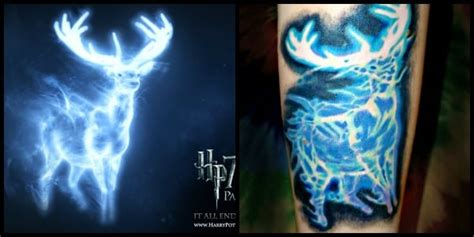 aces over eights tattoo patronus from harry potter by holyoak aces