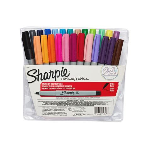 colored permanent markers sharpie ultra point permanent markers 24pk just 10