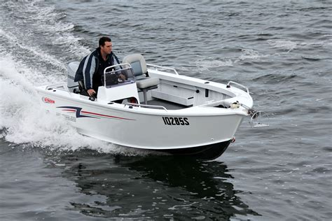 side console boats stacer outlaw 449 side console review boatadvice