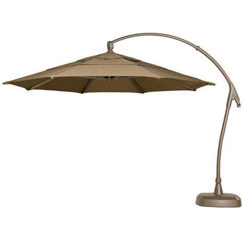 Overhang Patio Umbrella Thos Baker 11 Ft Cantilever Umbrella