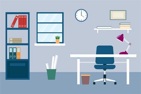 free office desk flat desk illustration design freephotos