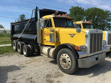 peterbilt dump truck 1997 peterbilt 379 for sale 59 used trucks from 15 080