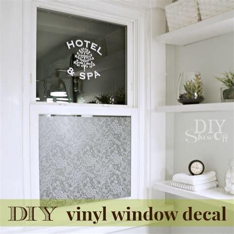 Online Bathroom Design Software diy window vinyl decal diy show off diy decorating