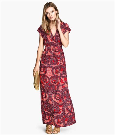Hm Dress h m maxi dress patterned dresscodes