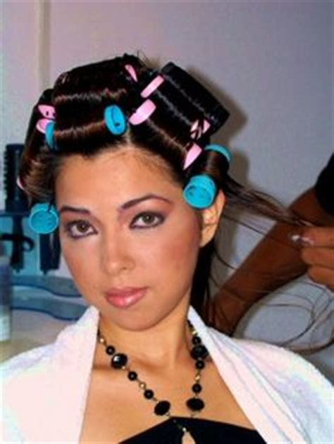she set his hair in curlers wet set sexy in curlers pinterest