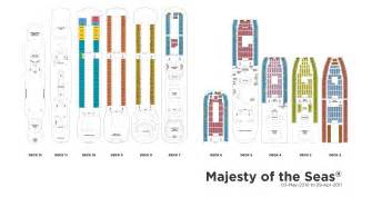 majesty of the seas floor plan royal caribbean international majesty of the seas kreuzfahrt kreuzfahrtschiff