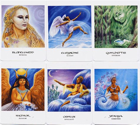 your inner goddess cards an oracle to express your feminine spirit books the goddess oracle inner whispers