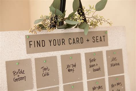 10 special diy wedding guest cards and seating unique and easy printed and punched diy cards