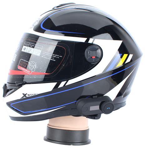 2 pcs FreedConn TCOM SC BT Bluetooth Motorcycle Helmet