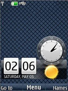 themes nokia 6300 battery clock battery clock mobile themes for nokia asha 203 auto