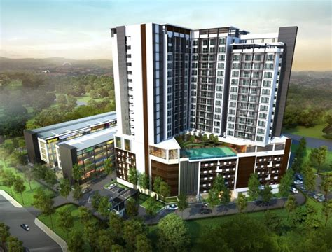 new serviced apartment for sale at temasya 8 shah alam