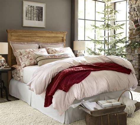 pillow ticking bedding vintage ticking stripe duvet cover sham pottery barn