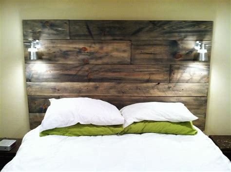 Barn Board Headboard I Want To Make A Headboard