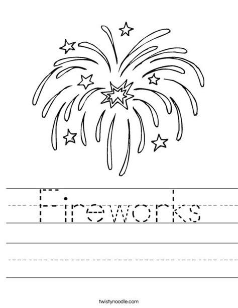 new year 2016 student worksheets fireworks worksheet twisty noodle
