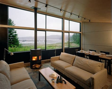port hadlock cabin modern living room seattle
