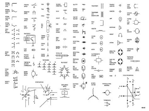 electric wiring diagram symbols wiring diagram