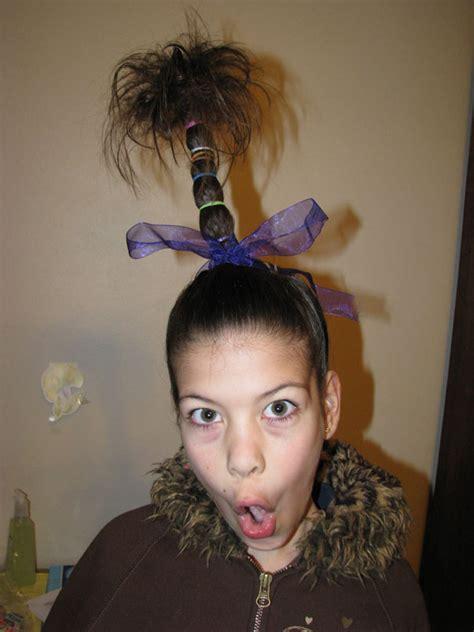 easy wacky hairstyles for school hunyville happenings hair day