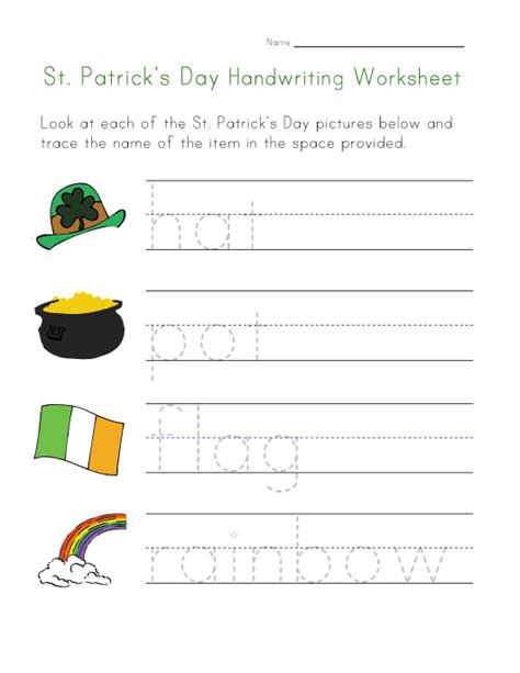 s day worksheet 27 st s day clip free printables tip junkie