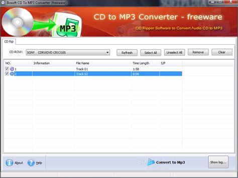 free download mp3 converter cd audio track boxoft cd to mp3 converter download
