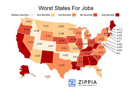best state for jobs best state for jobs these are the 10 worst states for jobs